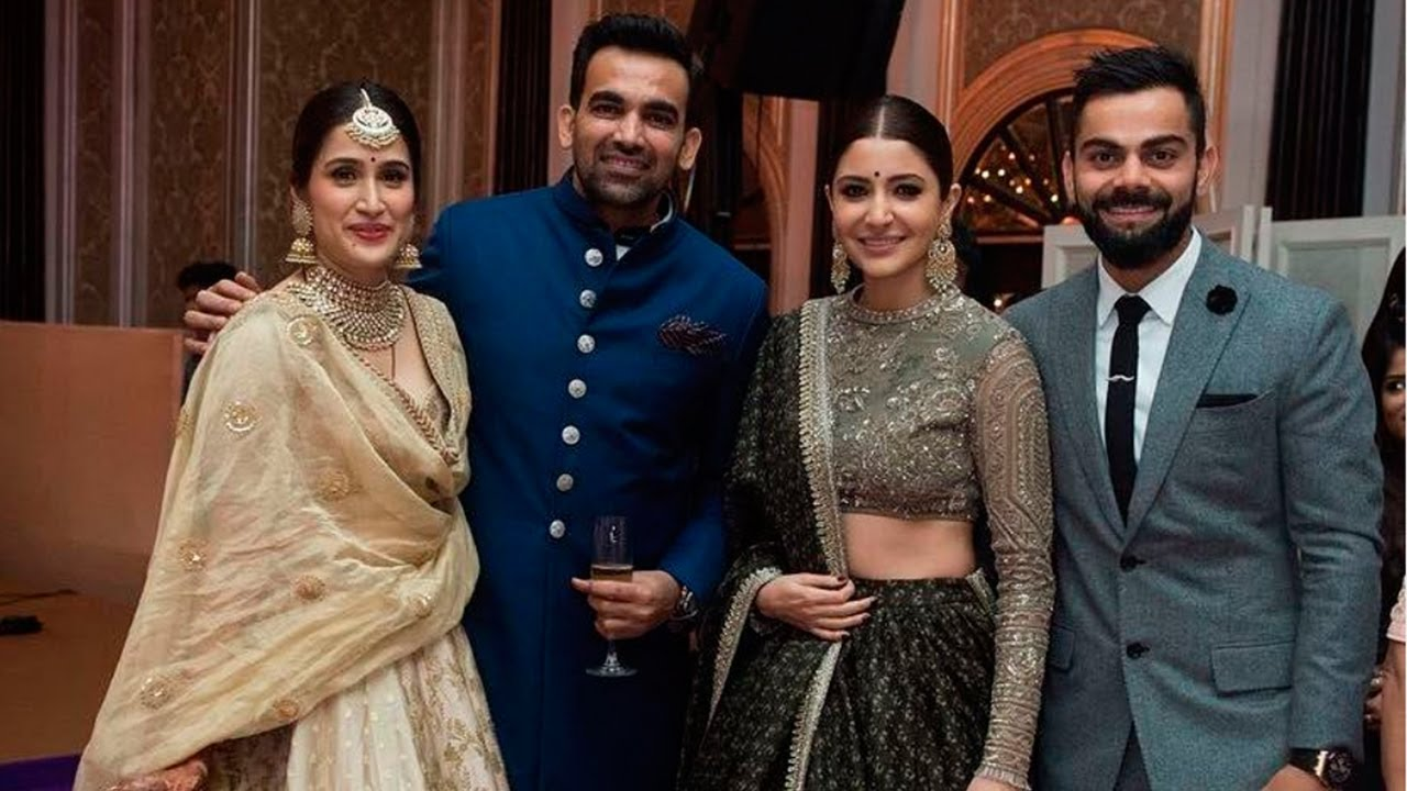 Zaheer Khan Sagarika Wedding Party 2017 Full Video HD
