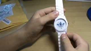 Посылка из Китая №35 с Aliexpress  Часы с логотипом Adidas(, 2014-09-05T15:52:49.000Z)