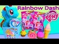 MLP Rainbow Dash Pony Pals Gift Box Set Blind Bags Cutie Mark Magic Surprise Mystery Opening