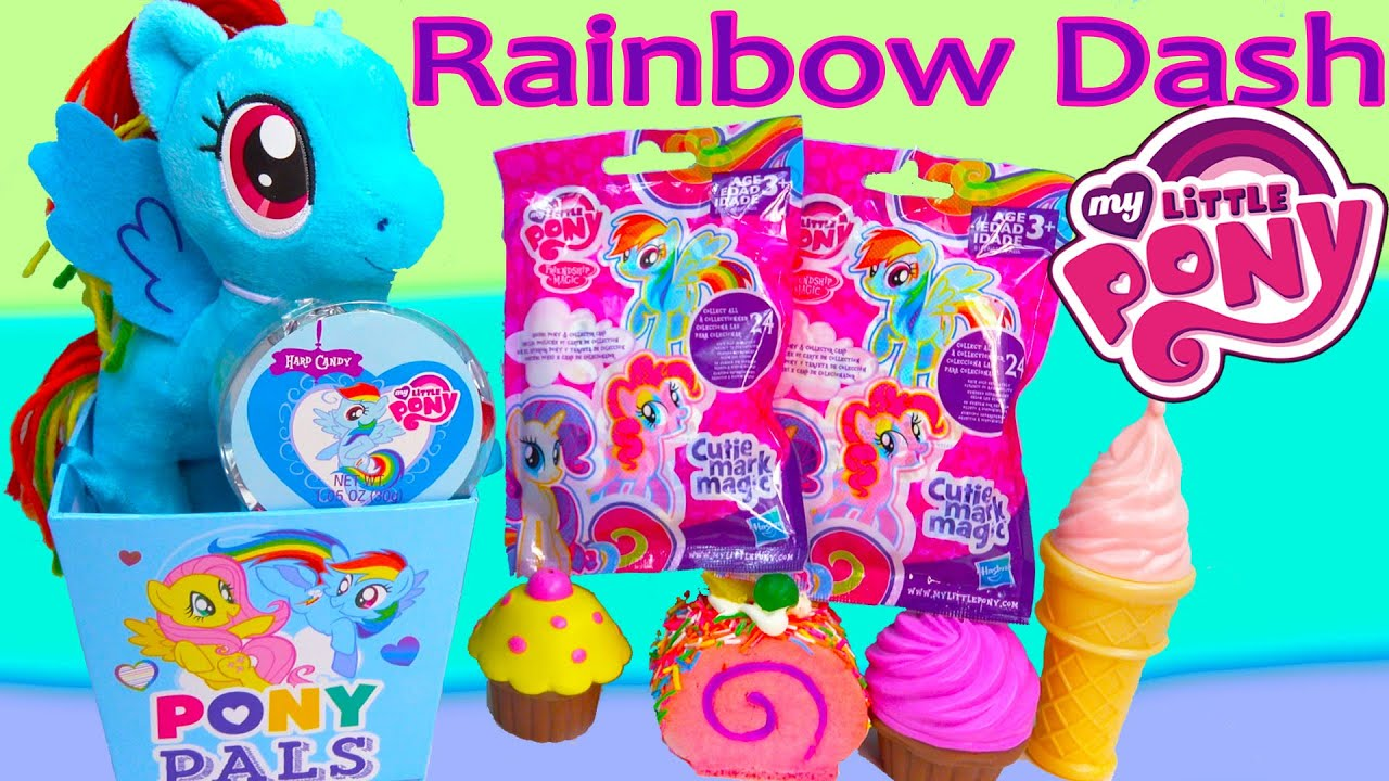 Mlp Rainbow Dash Pony Pals Gift Box Set Blind Bags Cutie