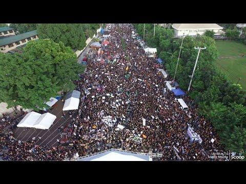 A Grand Protest Rally in Manila