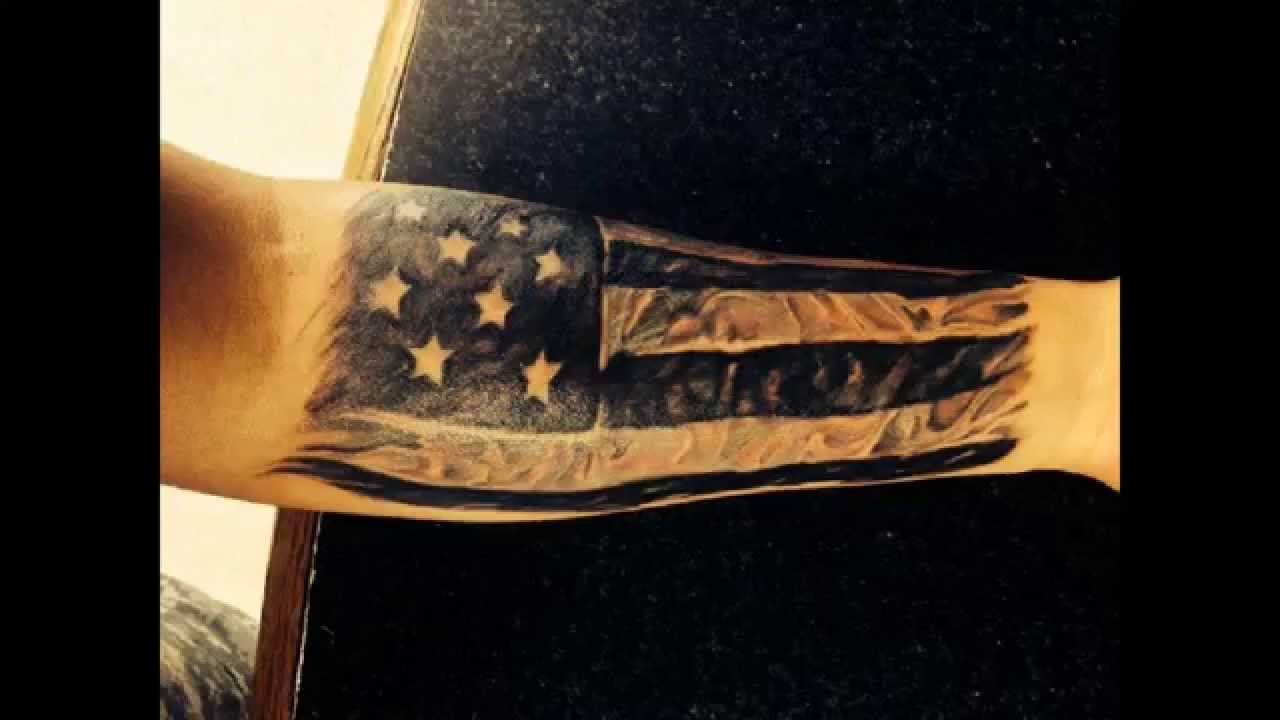 30 Patriotic Images Of American Flag Tattoo