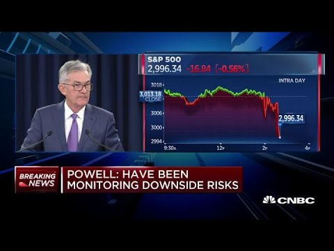 Powell: Fed will continue to watch US economy, inflation and growth