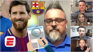 La VÍA LEGAL para la salida de Lionel Messi del Barcelona. Habrá reunión con Bartomeu. | Exclusivos
