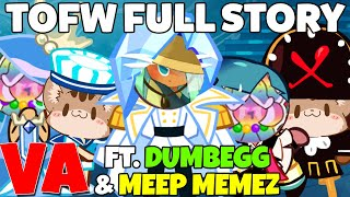 CROB FULL STORY WITH VA TOWER OF FROZEN WAVES Cookie Run Ovenbreak