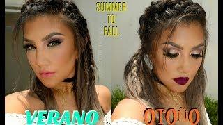 Maquillaje VERANO - OTOÑO / Summer to Fall Makeup tutorial (economico) | auroramakeup