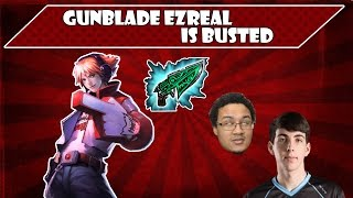 CLG Stixxay - Gunblade Ezreal is BUSTED | Stream Highlights