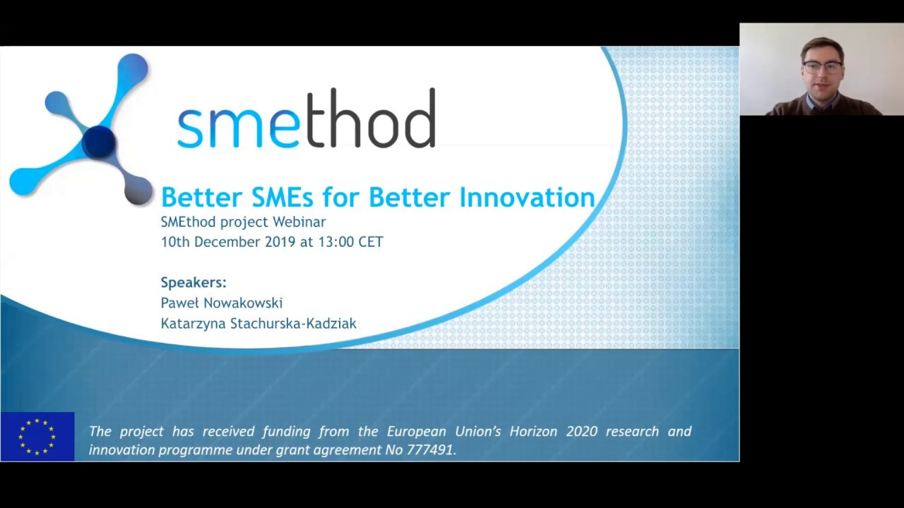 WEBINAR: Better SME's for Better Innovation