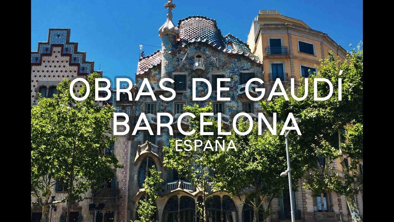 Obras arquitect nicas de gaud en barcelona espa a 5 for Obras arquitectonicas