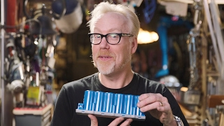 Adam Savage Catches Lightning in a Bottle - Unimpossible Missions