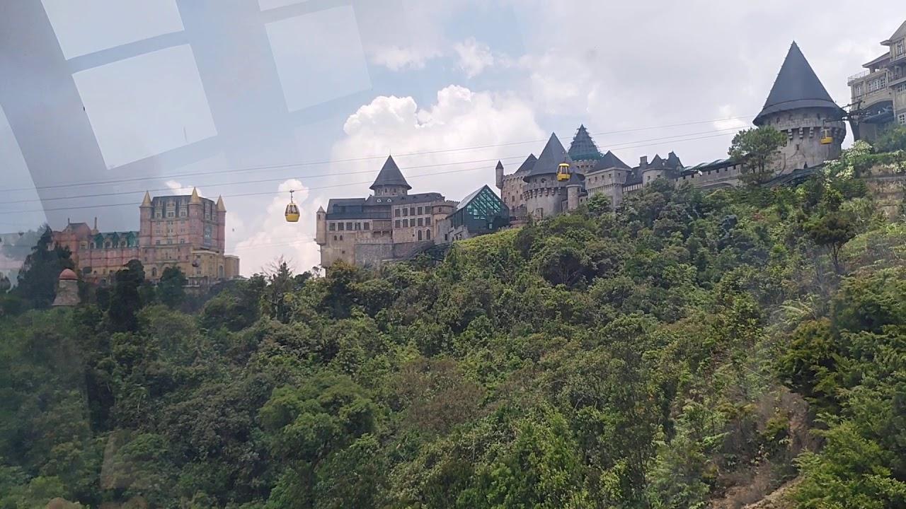 Review of Ba Na hills and the Amusement Park in Danang City. Đánh giá về thắng cảnh Bà Nà.