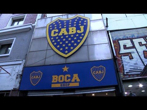 11685812a9c90 Boca Juniors inauguró su primera tienda deportiva - YouTube