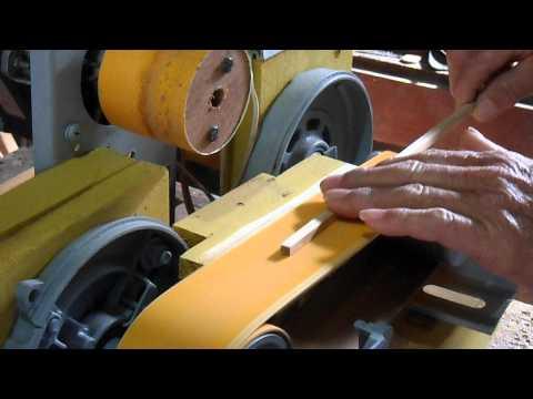 Fazendo gaiola com máquina artesanal