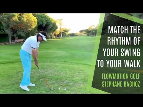 MATCH RHYTHM OF YOUR GOLF SWING TO YOUR WALK – KINEMATIC SEQUENCE WITH FLOWMOTION GOLF