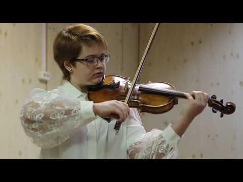 А Вьётан.  Концерт №5. исп. Дарья Седых (скрипка) и Марианна Чепцова (фортепиано).