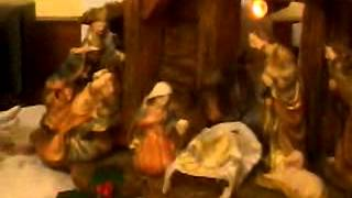Christmas Crib. Home Made