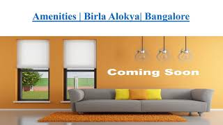 Birla Alokya - Contact No - 9590101000 - Whitefield Residential Villaments