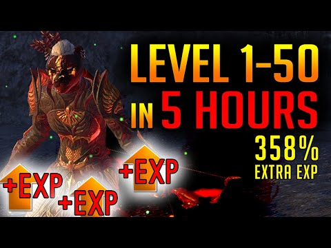 ESO Leveling Guide || Fastest way Level 1-50 and Champion Points!