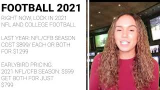 2021-22 Early Bird NFL and College Football