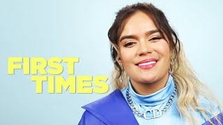 Karol G Tells Us About Her First Times