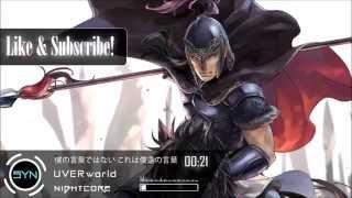 Nightcore   UVERworld - Boku no Kotoba (Arslan Senki OP) FULL [HD]