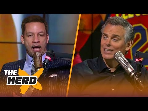 Chris Broussard on LeBron's options in 2019, Blake's hot start with Detroit | THE HERD