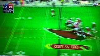 John brown hilarious touchdown celebration