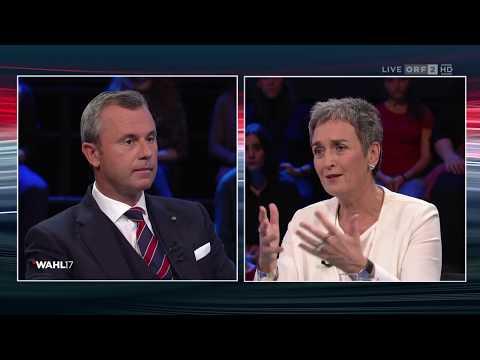 Konfrontation FPÖ - Grüne | Wahl 17