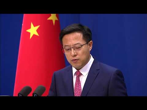 LIVE: Chinese foreign ministry officials hold media briefing