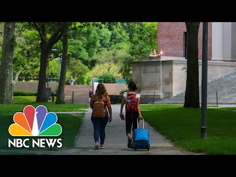 Shattered Dreams: Why Home Isn't An Option For Some International Students | NBC News