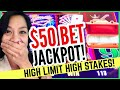 🔥 UPPED My BET To $50 & GOT ANOTHER JACKPOT! 😱 So CLOSE To GETTING ANOTHER JACKPOT As They PAID Me