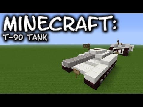 Minecraft: Tank Tutorial - T-90
