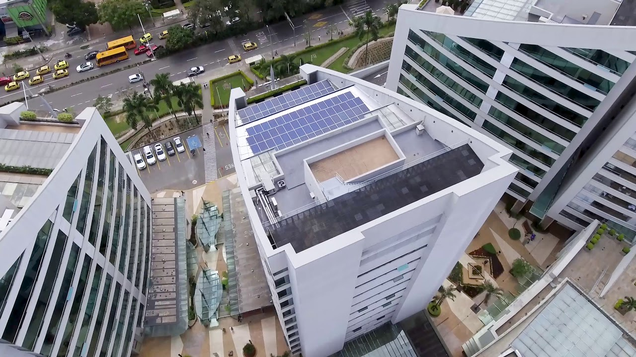 Proyecto de  Energía Solar en Banco BTG.