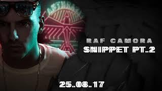RAF Camora - ANTHRAZIT - SNIPPET NR. 2 - 25.08.2017