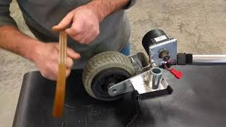 TravelScoot Drive Belt Replacement