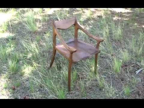 Building a Low-Back Chair DVD and Template