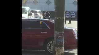 Crazy Street Fight in Philadelphia caught on tape