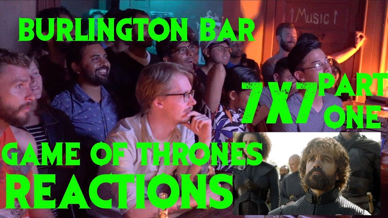 Download GAME OF THRONES Reactions at Burlington Bar /// 7x7 Part ONE \\\