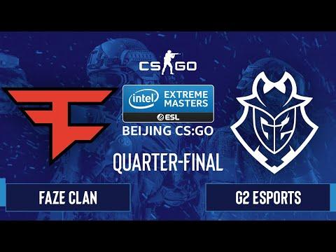FaZe Clan vs. G2 Esports [Dust2] Map 1 - IEM Beijing 2020 Online - Quarter-final - EU