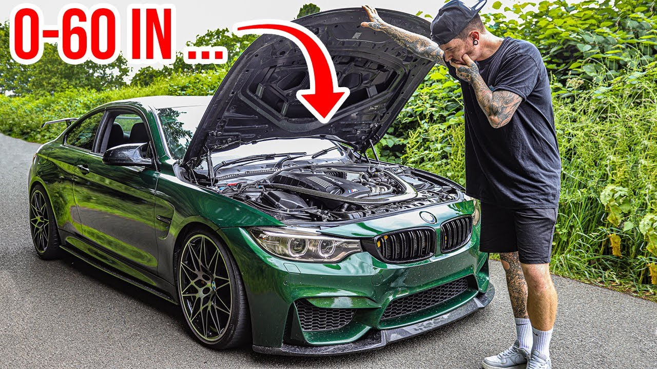 MAKING MY WRECKED BMW M4 INSANELY QUICK!
