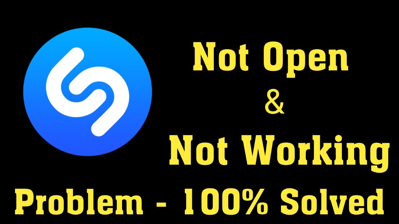 Download How To Fix Shazam App Not Open Problem Android & Ios - Shazam App Not Working Problem Solved