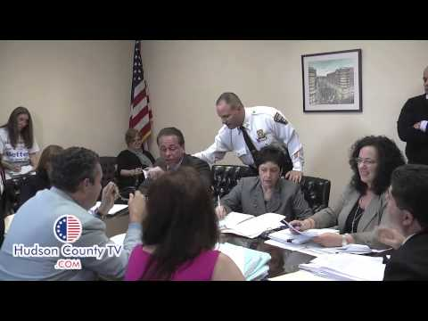 A Shouting Match at the West New York Special Meeting