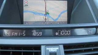 2010 Honda Accord Crosstour automatic time zone update.wmv