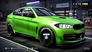 Need for Speed Heat - BMW X6M 2016 - Customize | Tuning Car (PC HD) [1080p60FPS]