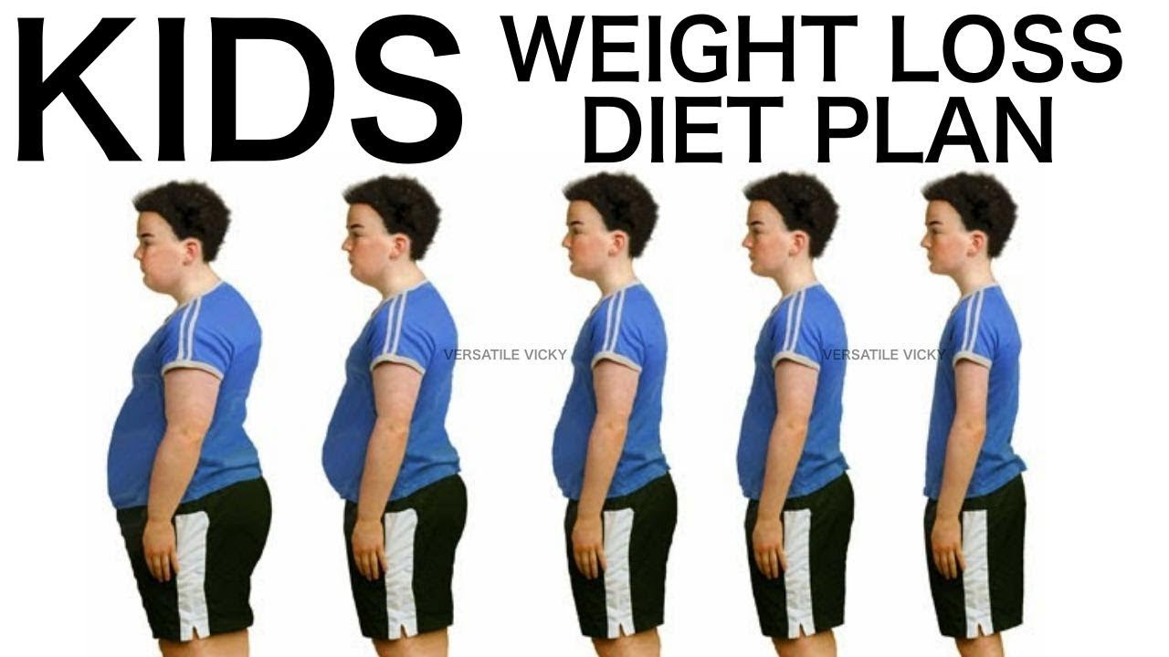 Kids Weight Loss Diet Children Diet Plan Youtube