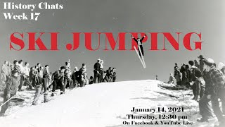 "video thumbnail: History Chats: Ski Jumping; ""the King of Winter Sports!"""