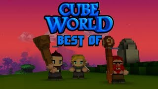 Best Of Let's Play Cube World (alle Perspektiven) - Gronkh, Sarazar und SgtRumpel