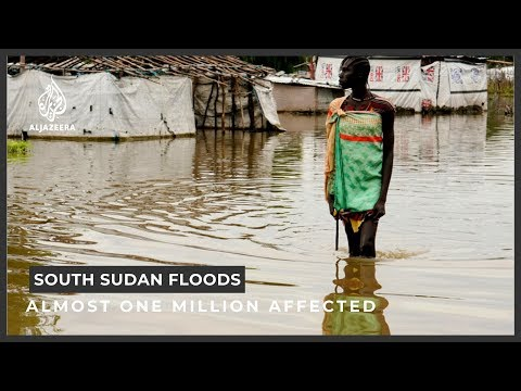 Almost one million affected by South Sudan floods