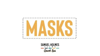 MASKS | Super quick After Effects tutorials | SHF Quick Tips
