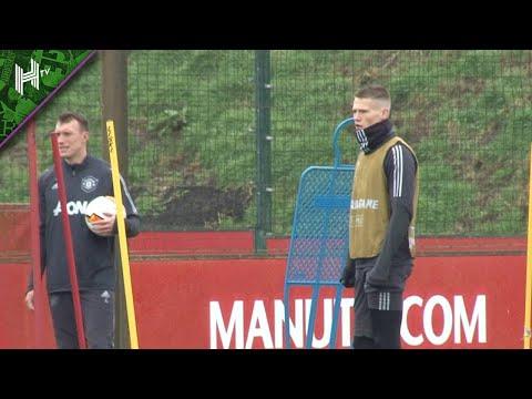 Scott McTominay back for Man United | Club Brugge v Manchester United | Europa League | Training